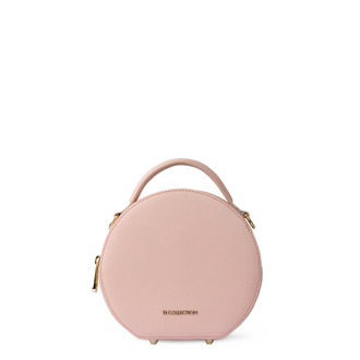 Sorbet Pink Leather Cross-Body Mini Bag Positano XN 5160019 PNA