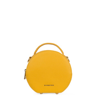 Citrus Yellow Leather Cross-Body Mini Bag Positano XN 5160019 YLW