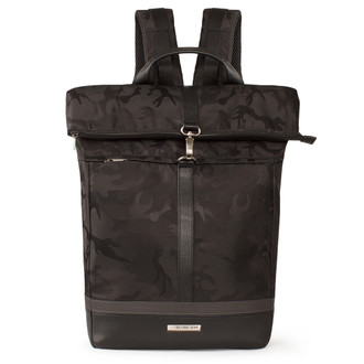 Military Print Nylon Edinburgh Backpack YH 8473039 BLA