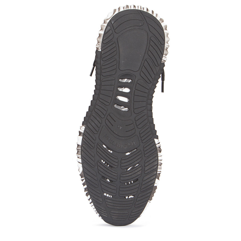 Men's Coated Sock Trainers with Graphic Soles GK 7204329 BLY
