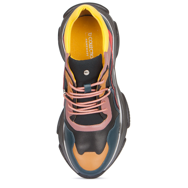 Women's Lightweight Leather Stratosphere Sneakers GS 5224019 BUG