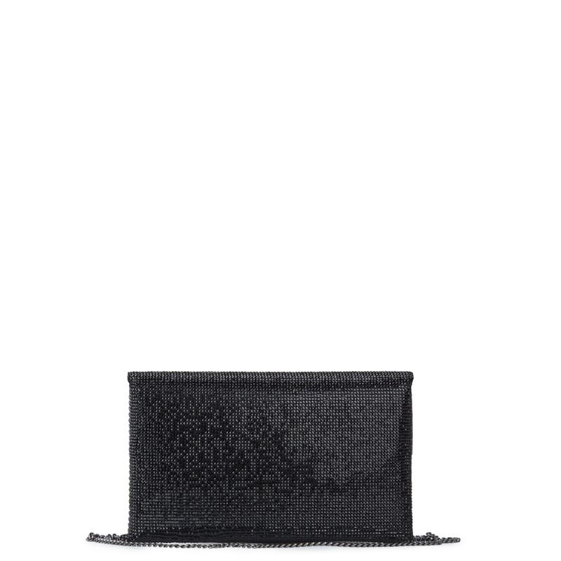 Crystal-Embellished Black Clutch Somerset  XB 5100829 BLZ