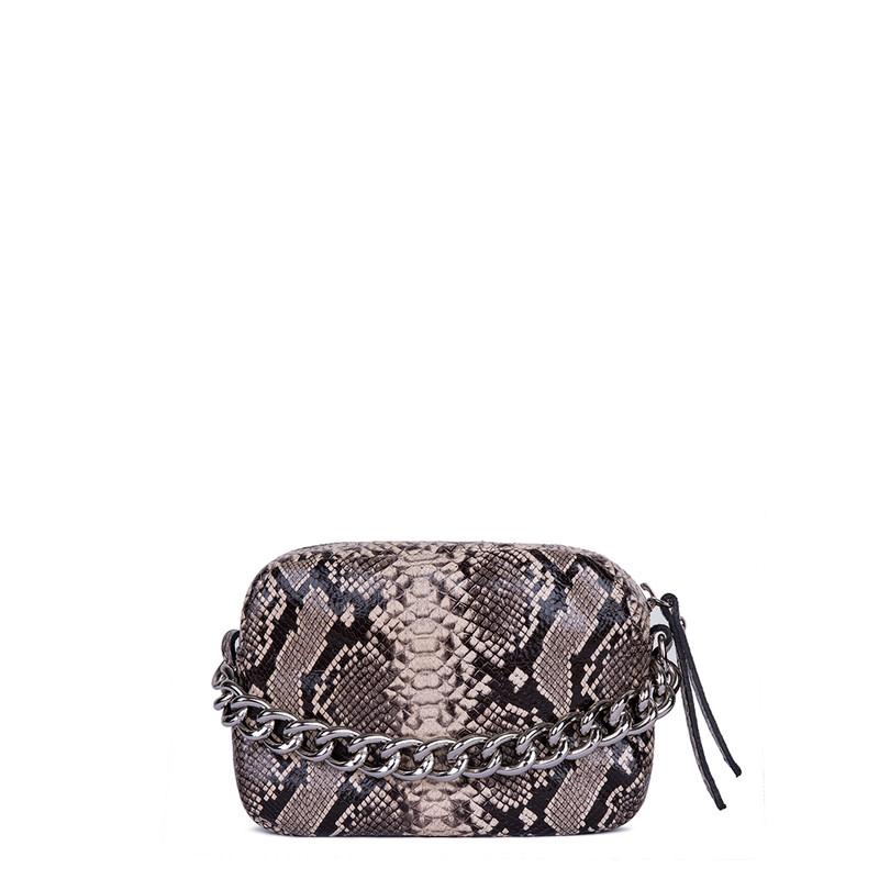 Python Print Leather Mini Bag Rimini  YG 5104119 BRZ