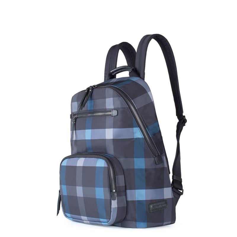 Grey and Blue Nylon Backpack Reykjavik  YT 8448829 BLG