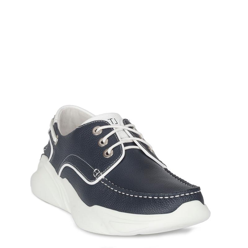 Men's Navy Blue Hybrid Derby Sneakers GB 7211010 NVW