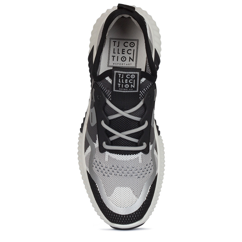 Black and White Women's Freedom Sneakers GK 5204420 WHB