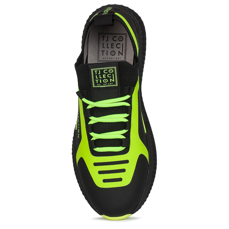 Women's Lime Green Pluto Sneakers GK 5206920 BLY