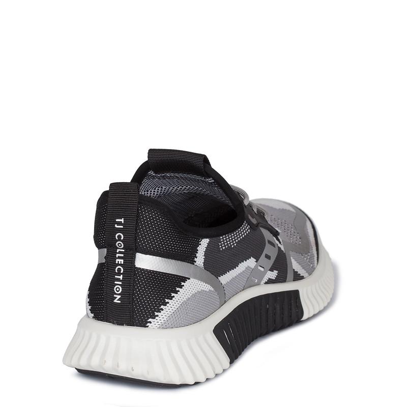 Men's Black and White Men's Freedom Sneakers GK 7204420 WHB