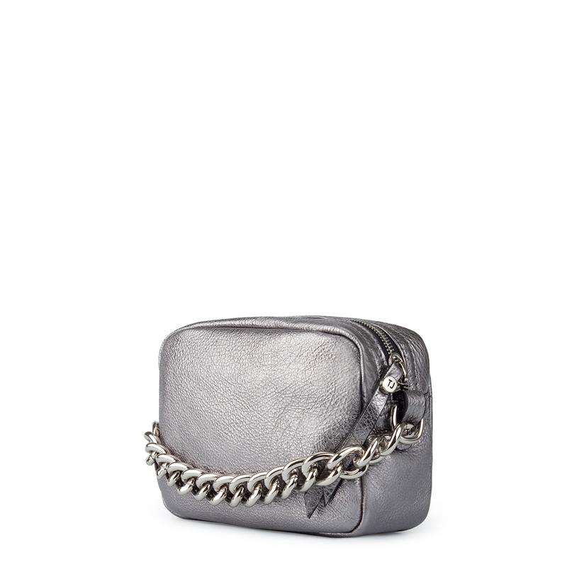 Platinum Leather Miniature Rimini Bag YG 5104110 PLZ