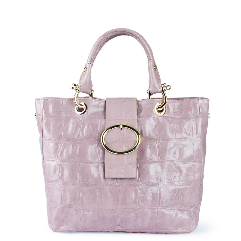 Nude Pink Leather Valencia Tote YG 5335010 LLC