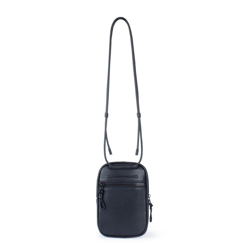 Black Leather Unisex Shoreditch Bag YH 8100710 BLI