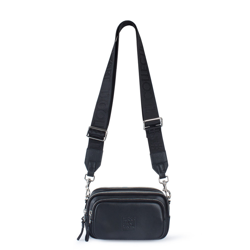 Black Unisex Glove Leather Bag YH 8118810 BLI