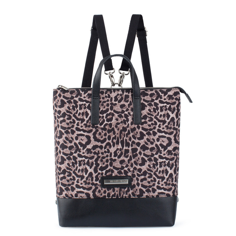 Torbole Transformer Bag with Bold Leopard Print YH 8339130 LEO R