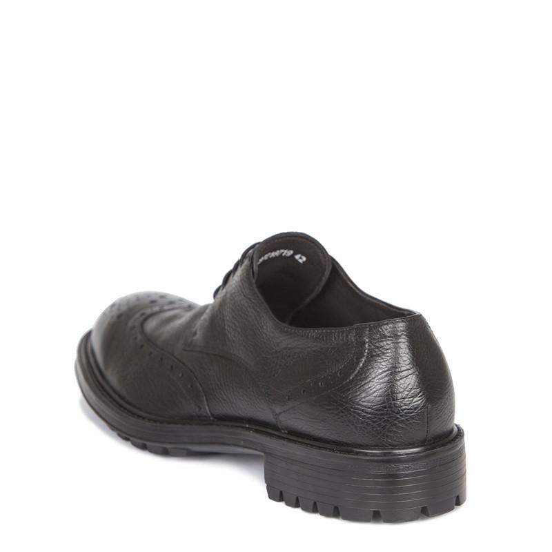 Men's Classic Black Perforated Derbies GB 7218719 BLI