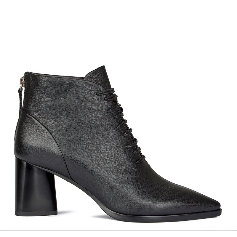 Women's Lace-Up Ankle Boots GD 5364710 BLA