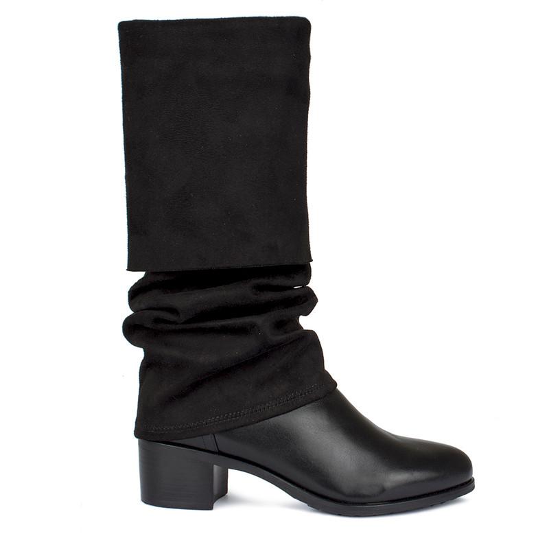 Women's Black Over-Knee Boots GD 5749930 BLE