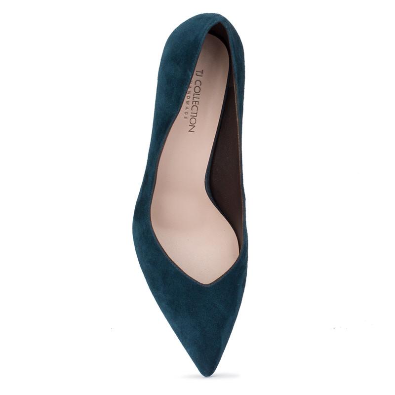 Women's Turquoise-Blue Pumps GF 5267710 GNS