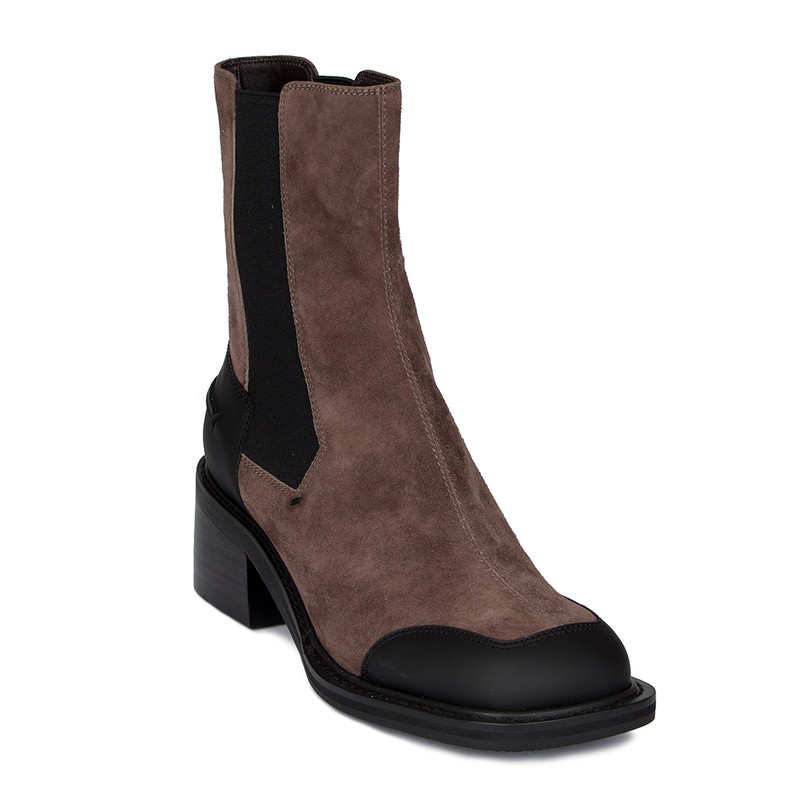 Women's Taupe Brown Chelsea Boots GF 5346910 TPB