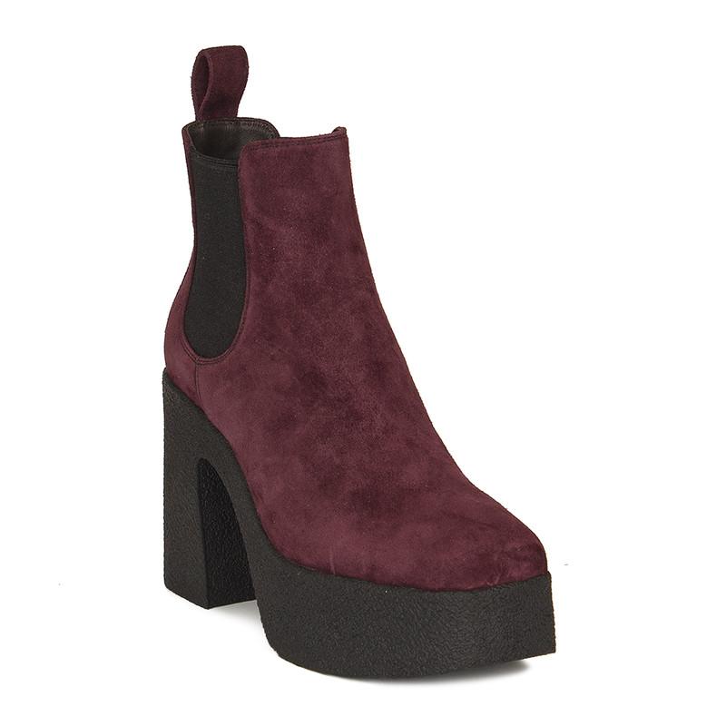 Women's Burgundy Chelsea Heels  GF 5360310 DVS