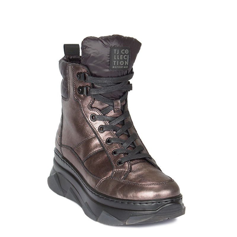 Women's Sporty Bronze Boots  GF 5521010 PLZ