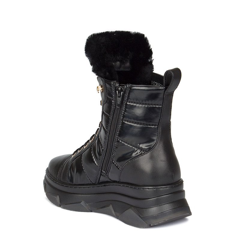 Women's Chunky Winter Ankle Boots GF 5521930 BLK