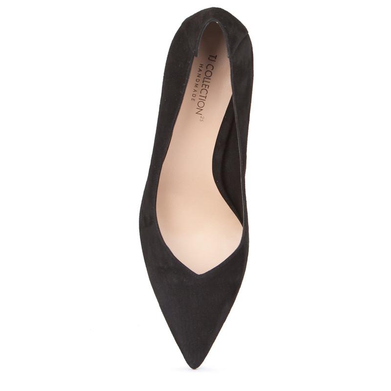 Women's Black Suede Stilettos  GJ 5268018 BLS