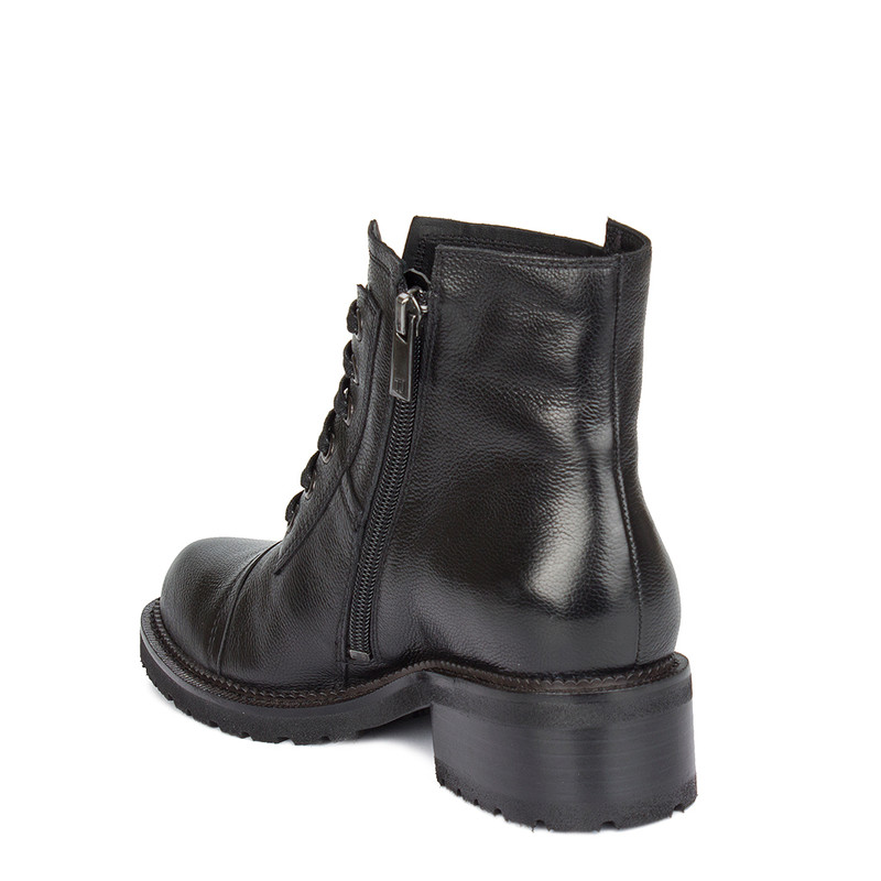 Women's Black Boots with Zip and Laces GP 5335210 BLI GP 5335210 BLI