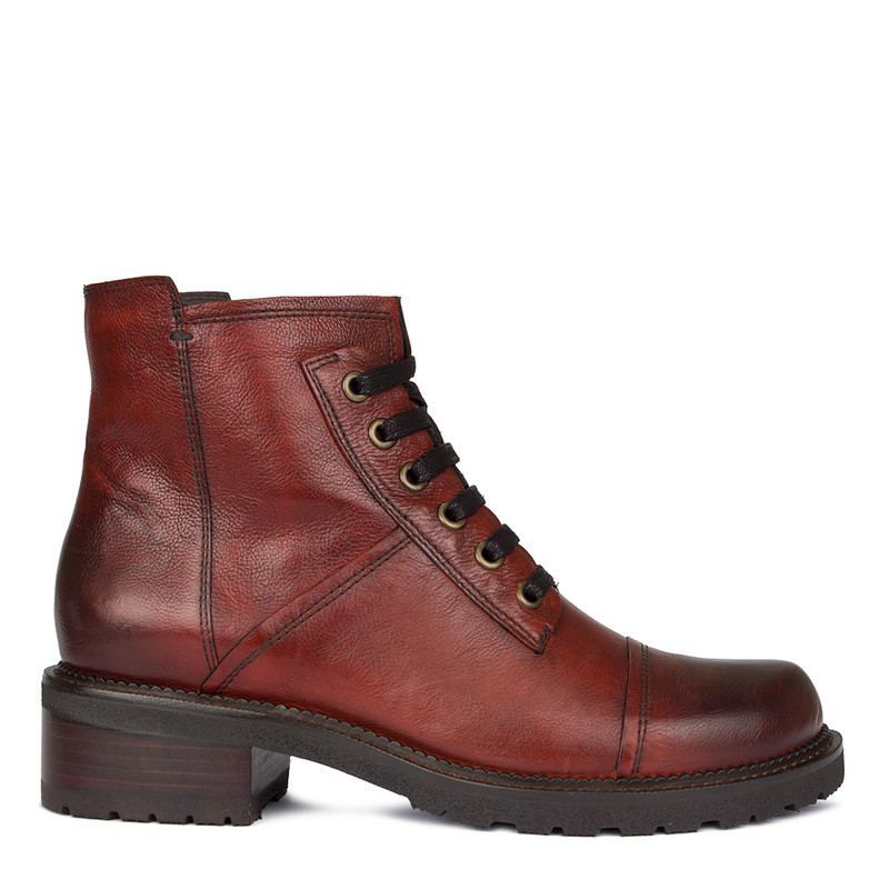 Women's Terracotta Boots with Laces GP 5335210 TRA