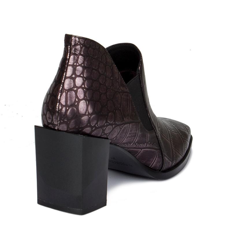 Women's Purple Patent Leather Courts GR 5268910 DVC