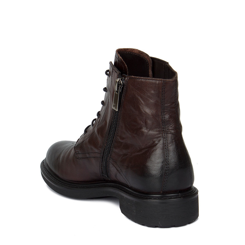 Women's Washed Leather Boots MP 5317010 DBA