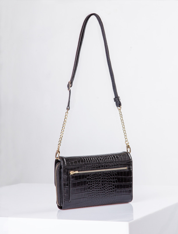 Black Leather Vienna Bag YA 5120910 BLC