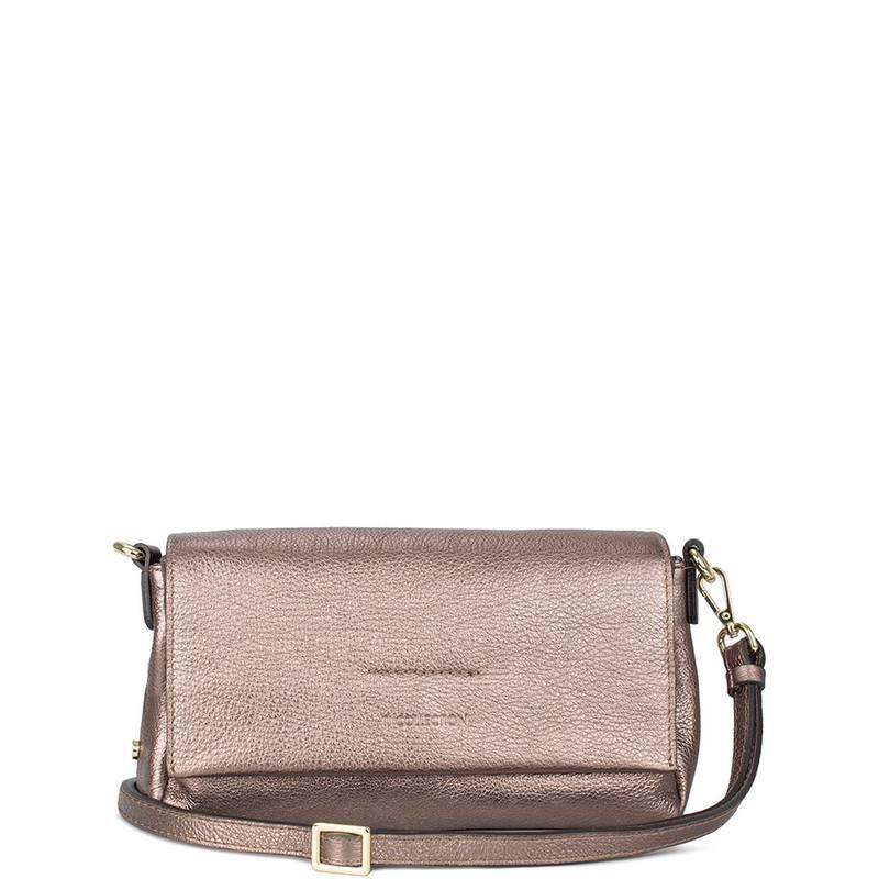 Metallic Bronze Leather Monte Carlo Bag YG 5152510 BRZ