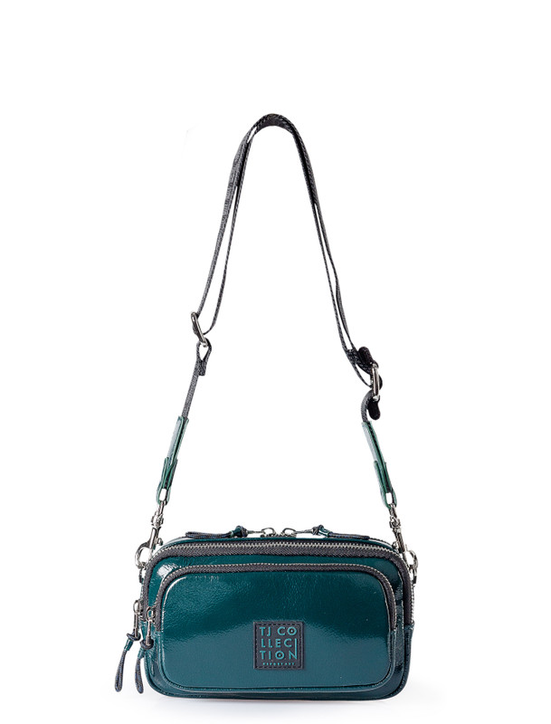 Emerald Green Unisex Leather Bern Bag YH 8118810 GNP