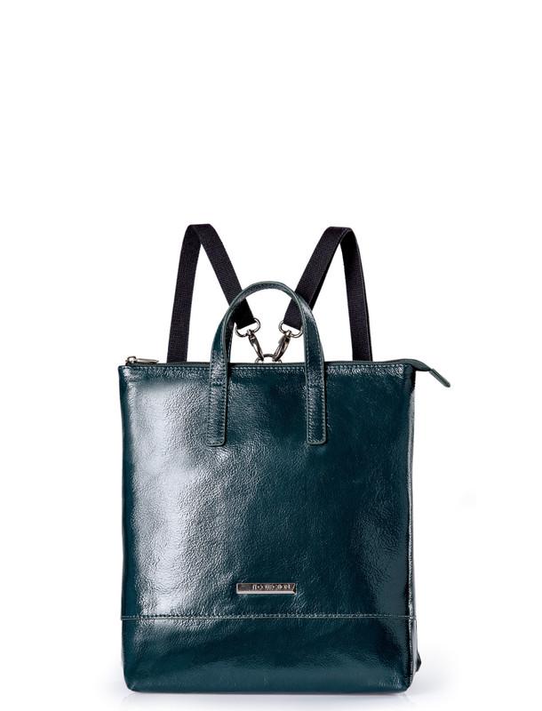 Emerald Green Patent Leather Torbole Bag YH 8339110 GNP R