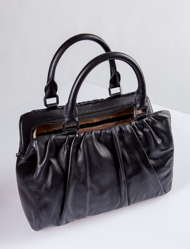 Black Leather TJ Doctor Bag Soft YT 5349910 BLI
