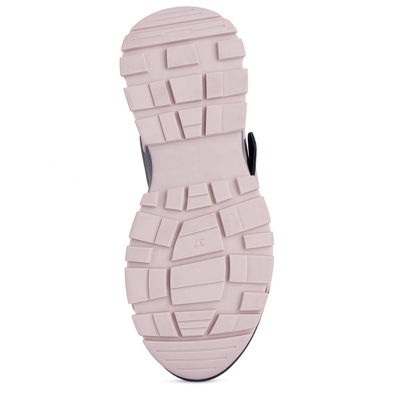 Women's Exquisite Black Sandals GF 5129521 BLZ