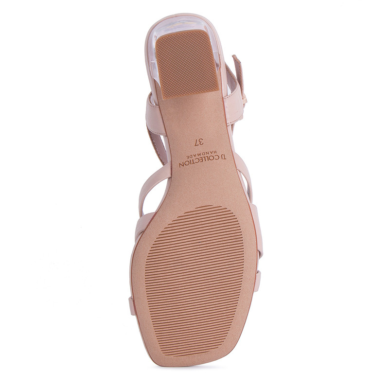 Women's Tender Beige Leather Sandals GF 5165011 BGA