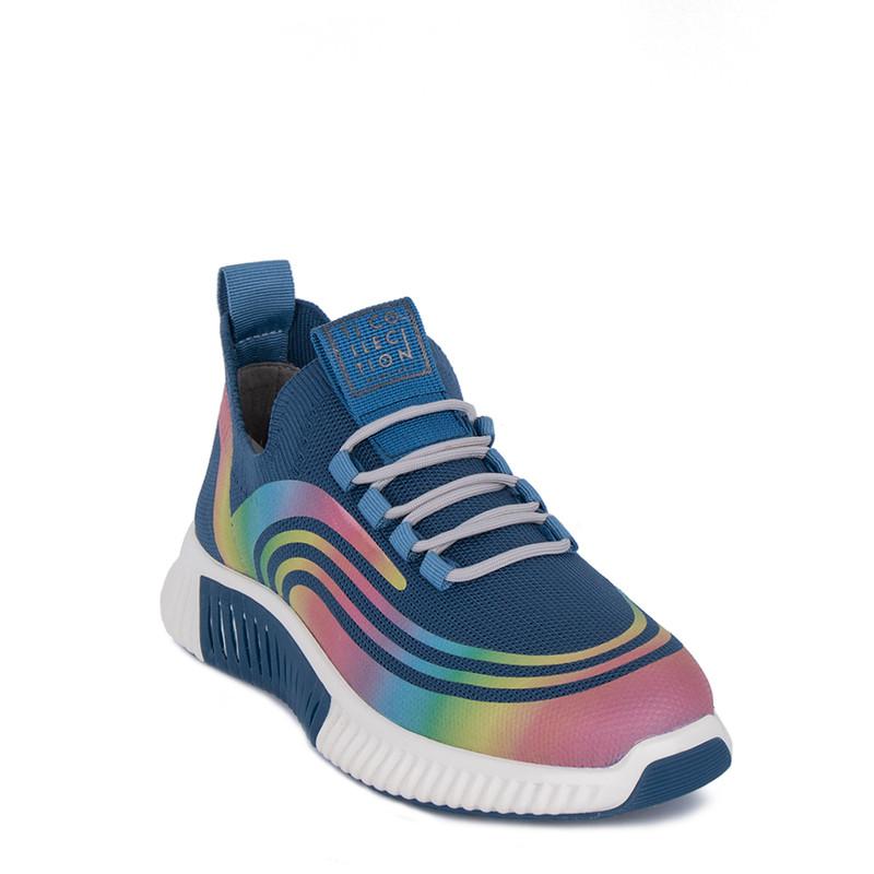 Women's Blue Textile Freedom Sneakers GK 5204921 BUM