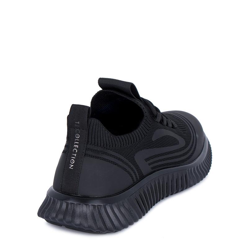 Men's Black Textile Freedom Sneakers GK 7204821 BLK