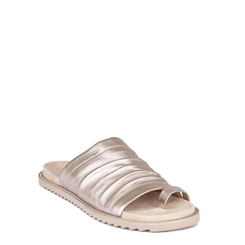 Women's Metallic Glove Leather Sandals GP 5114219 GLZ