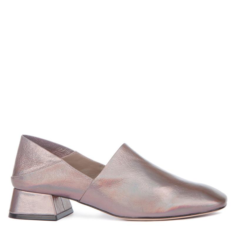 Women's Refined Bronze Leather Shoes GR 5231019 TPZ