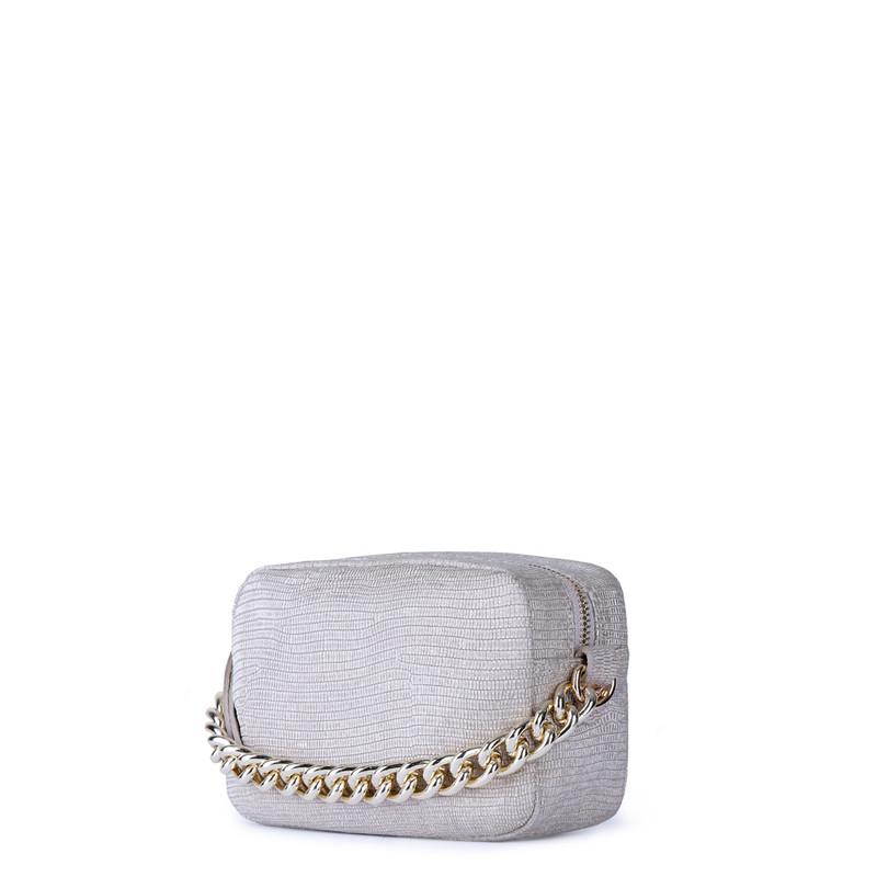Beige Miniature Leather Bag Rimini YG 5104111 GLZ