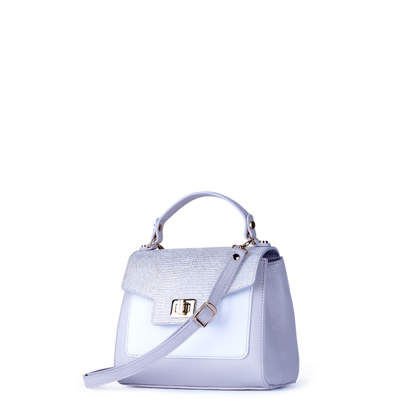 White and Beige Hummingbird Bag YM 5212011 BGZ