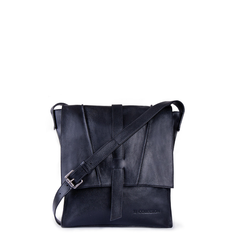 Unisex Leather Cross-Body Bag Rotterdam XR 8329911 BLI