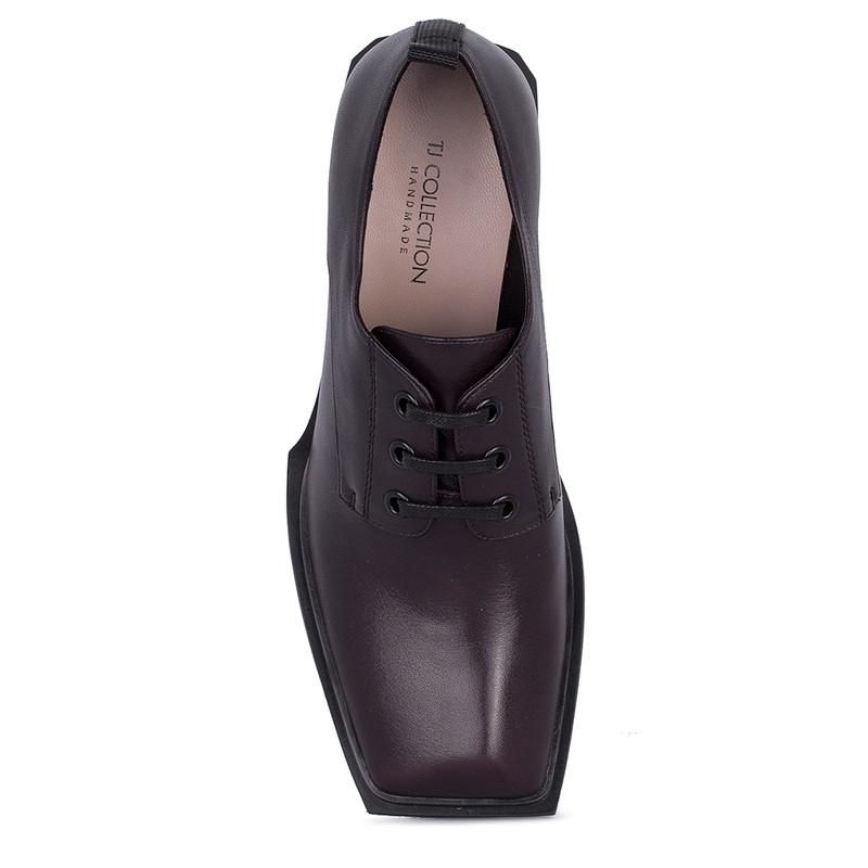 Women's Blackberry Leather Heels GF 5259811 DVA
