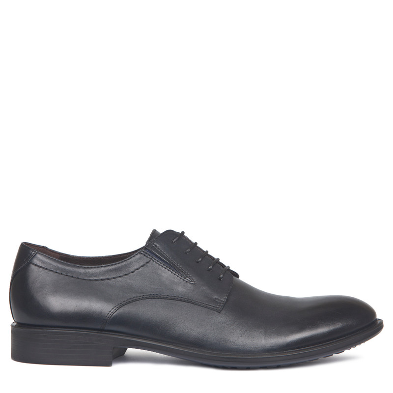 Men's Navy Classic Derby Shoes MP 7291017 NVA