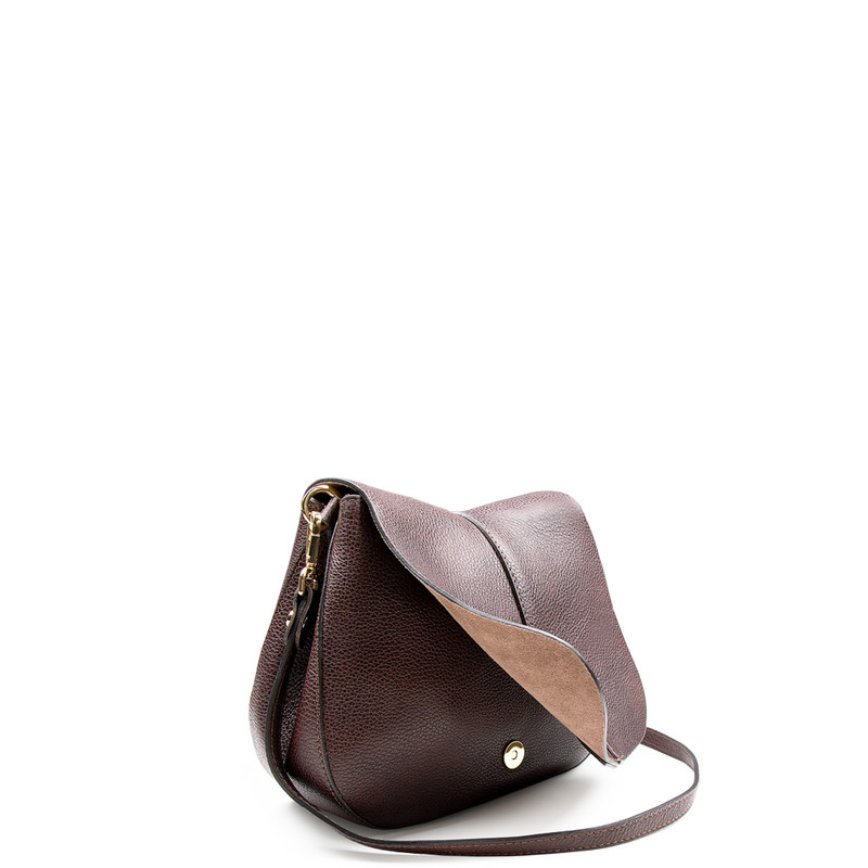 Brown Saddle Bag Ascot  YG 5204017 BRA