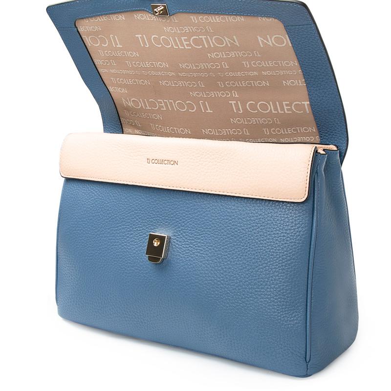 Blue Satchel Bag Lausanne YT 5338017 BLU