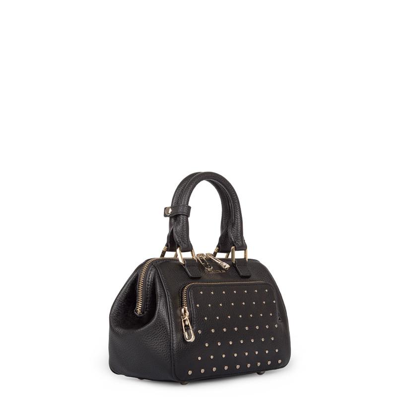 Black Doctor Bag Mini XT 5149918 BLZ | TJ COLLECTION | Side Image - 1