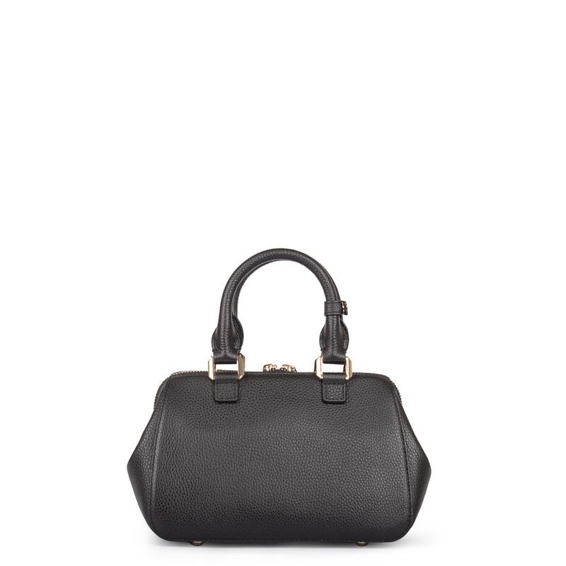 Black Doctor Bag Mini XT 5149918 BLZ | TJ COLLECTION | Side Image - 2